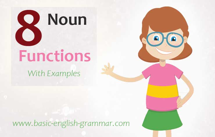Functions of a Noun