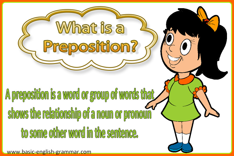 what is a preposition? | examples of prepositional phrases